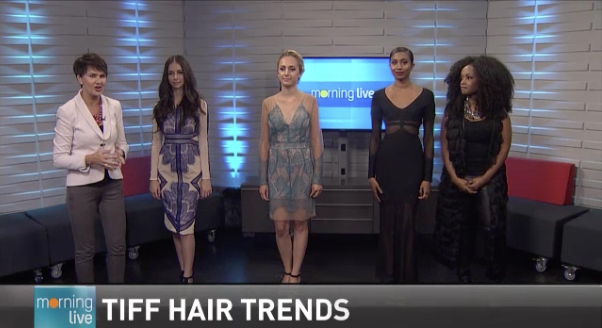 TIFF Hairstyles