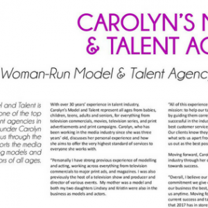 Best Woman Run Model & Talent Agency – Canada