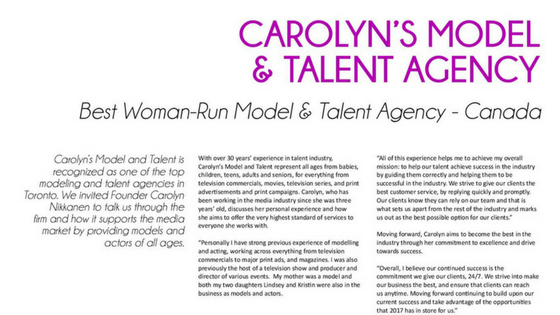 Best Women Run Agency