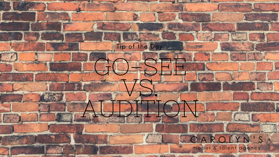 "The Difference Between A ""Go-See"" And An Audition"