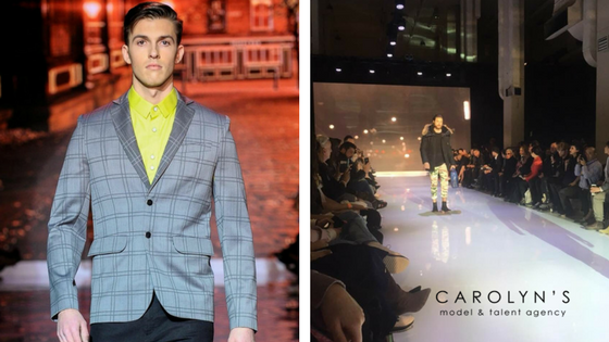 Toronto Men's Fashion Week Featuring Carolyn's Models
