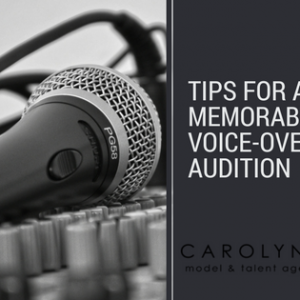 Tips For A Memorable Audition
