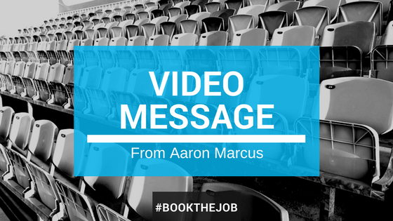 Video Message From Aaron Marcus